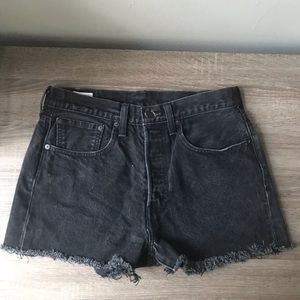 Thrifted Levi 501 shorts